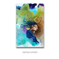 saying a prayer